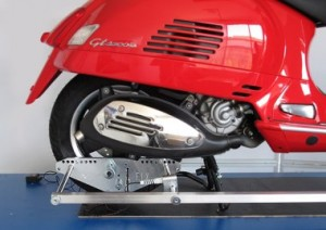 Rahmenvermessung Roller